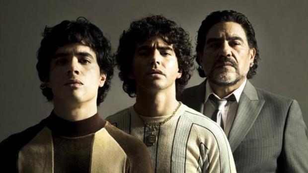 Amazon Prime снимет сериал про Марадону. Все 3 актера прям очень-очень похожи на Диего