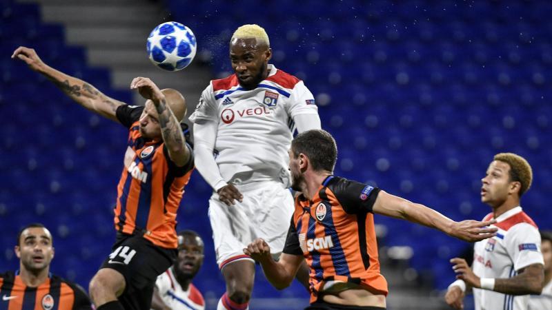 Moussa Dembélé face au Shakhtar