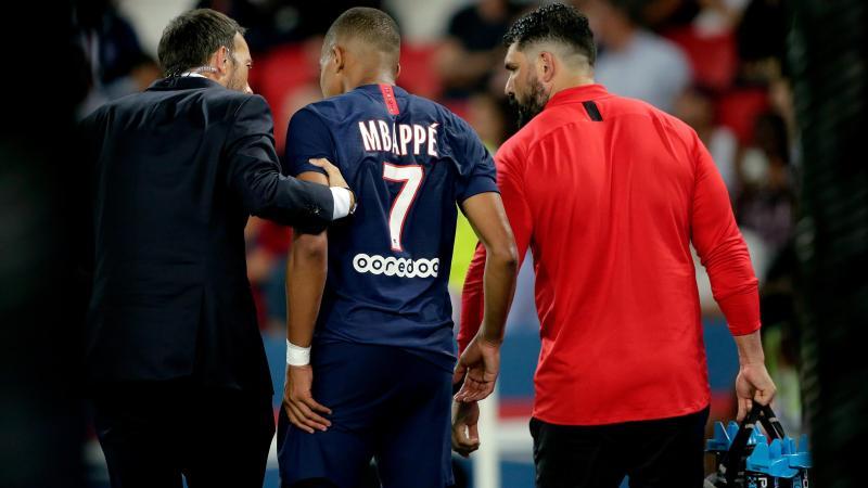 Mbappé sort sur blessure contre Toulouse