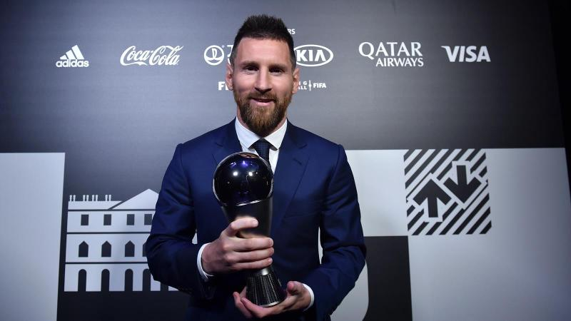 The Best Awards: Lionel Messi wins Best Men