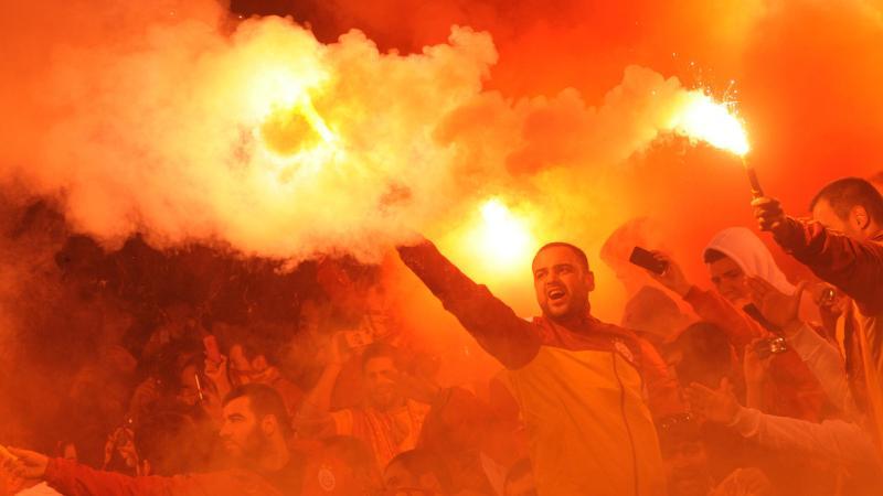Un supporter de Galatasaray