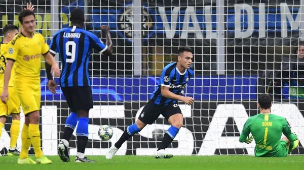 Football news - Lautaro Martinez gives Inter win over Borussia Dortmund