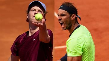 Huit mois après l'y avoir chatouillé, Jannik Sinner peut-il déboulonner Rafael Nadal à Roland-Garros ?