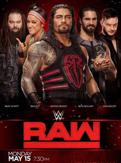 WWE Monday Night Raw (12th April 2021) English 720p HDRip 1.4GB | 400MB Download