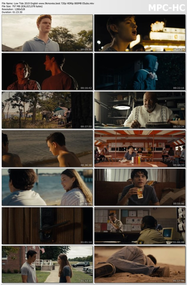 Low Tide 2019 English Movie 720p HDRip 800MB | 300MB ESubs Download