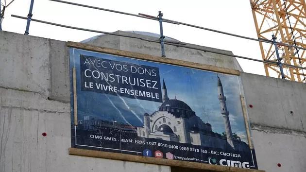 La nouvelle mosquée de Strasbourg exacerbe les tensions entre la Turquie et la France