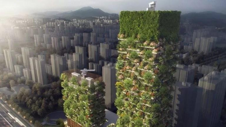 L'ensemble comportera 1100 arbres et 2500 plantes.