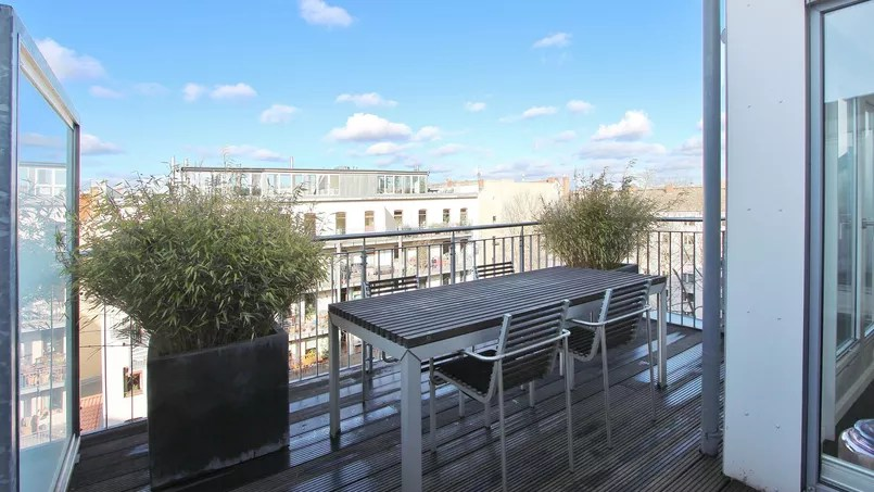 Un appartement de grand standing de 158 m², situé dans le centre de Berlin, en vente pour 1,35 million d'euros