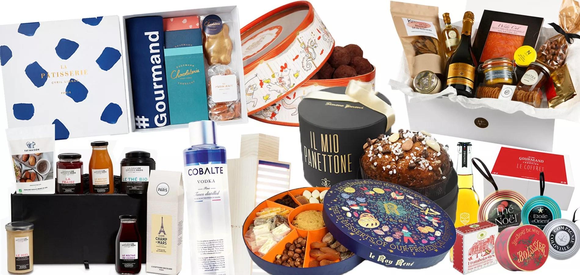 pour noel ou pour le nouvel an on fait le plein de cadeaux gourmands