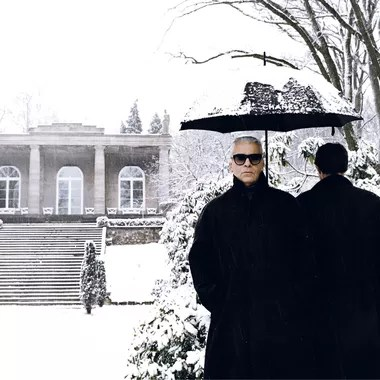 Un avant goût de l'exposition de Jean-Marie Périer - Karl Lagerfeld
