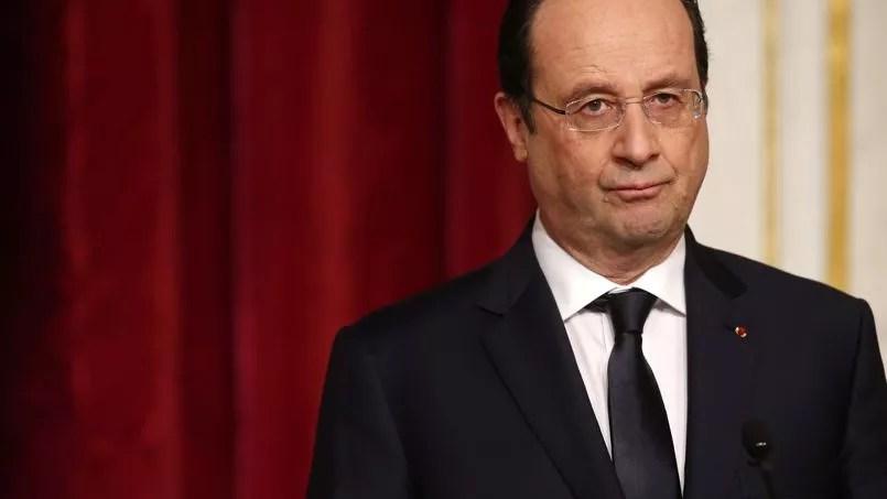 François Hollande à l'Élysée, le 3 février dernier.
