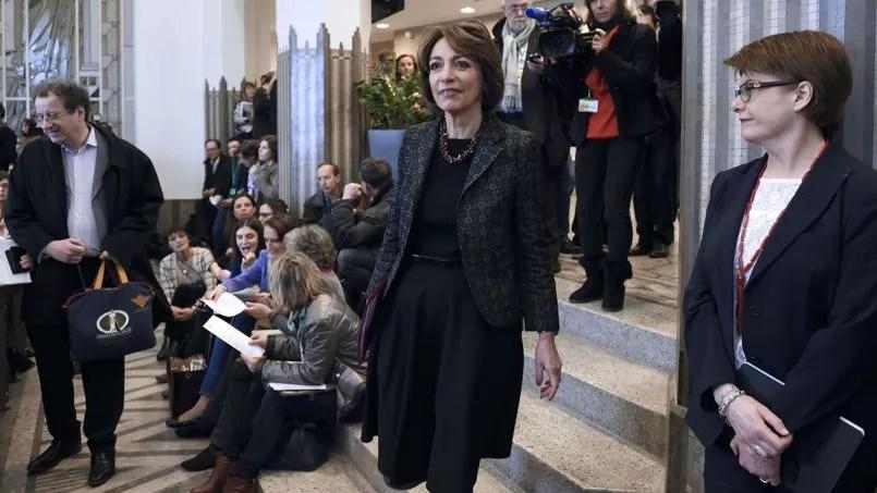 Marisol Touraine, ministre de la Santé, défend son projet de loi.