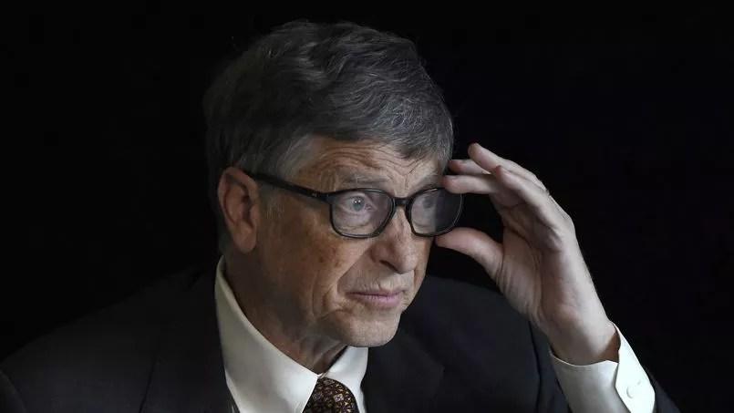 Bill Gates lors d'une interview le 27 janvier 2015.