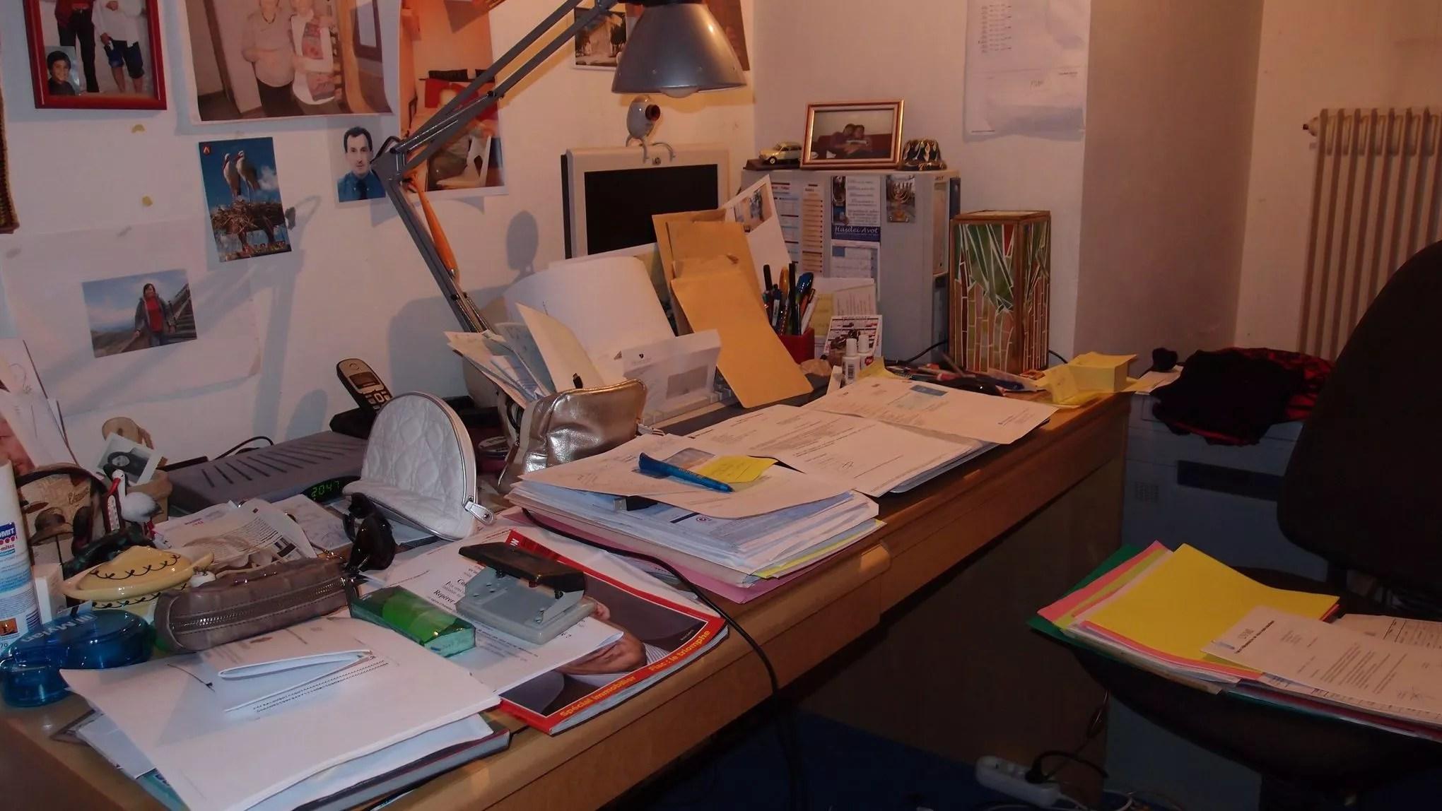 La Clef De La Productivit Avoir Un Bureau En Dsordre