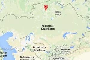 Kalachi, dans la province d'Akmola au nord du Kazakhstan