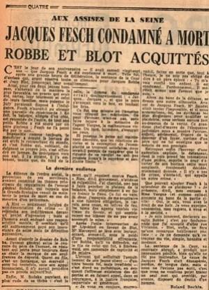 Article publié en 1957 dans les colonnes du Figaro.