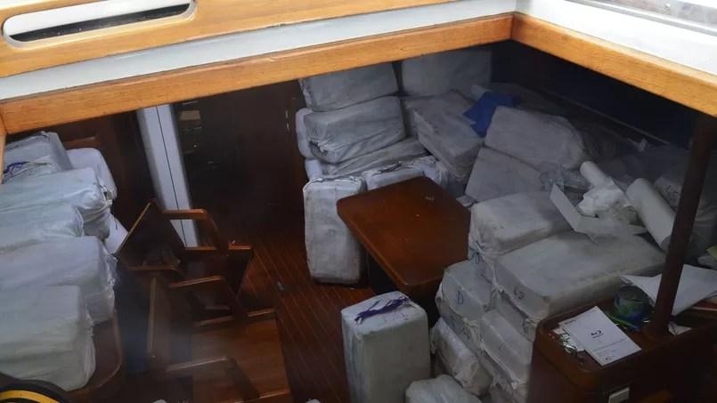 La cargaison aurait une valeur marchande de 70 millions d'euros.