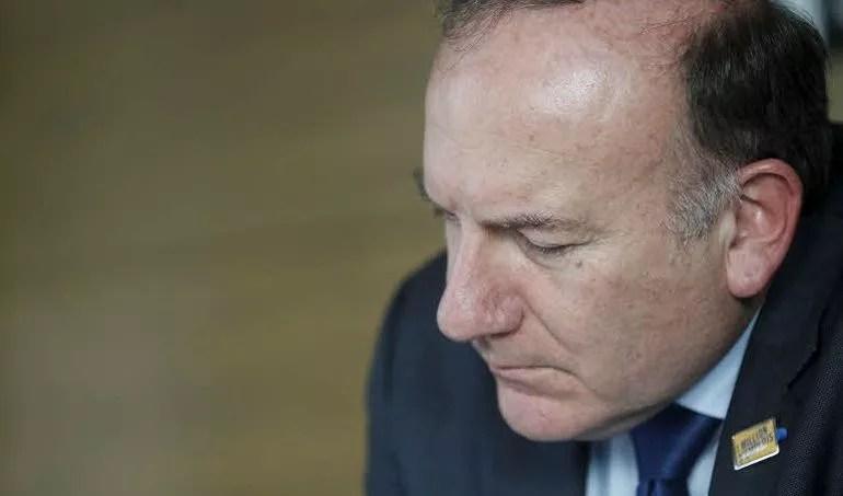 Pierre Gattaz, le président du Medef. (Crédit: Le Figaro/J-C.Marmara)