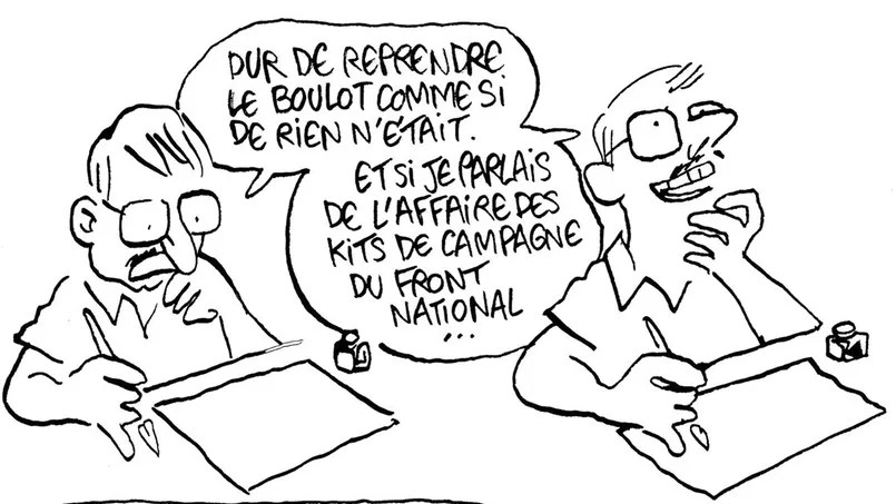 <i>Catharsis</i>, la bande dessinée post-traumatique de Luz.
