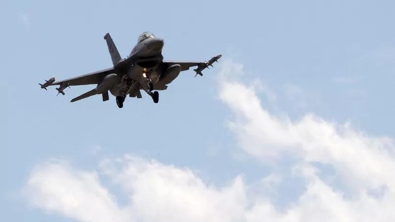 F-16 de l'armée turque (Illustration).