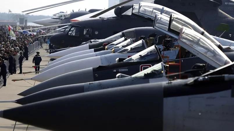 Des avions militaires russes à Moscou