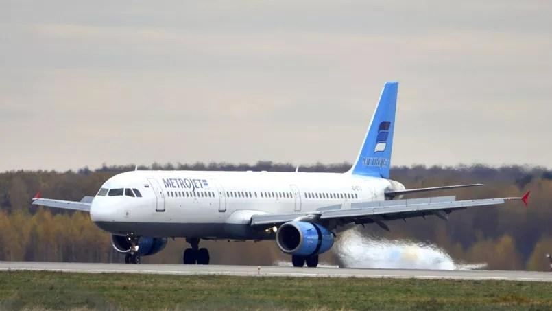 L'Airbus A321 de la compagni Kogalymavia, plus connue sous le nom de Metrojet, ici le 20octobre à Moscou, avait effectué son premier vol en 1997.