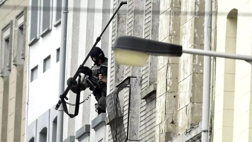 Perquisition rue Delaunoy à Molenbeek