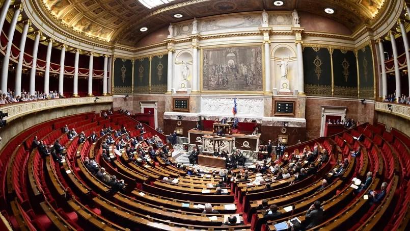L'hémicycle de l'Assemblée nationale, le 18 juin 2015.