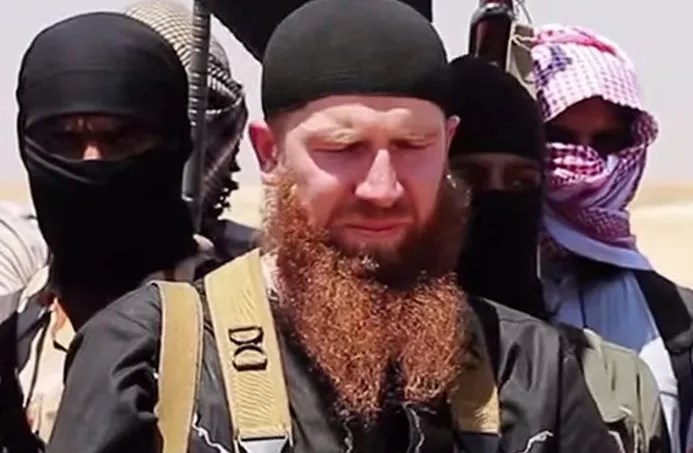 Omar al-Shishani, en juillet 2014.