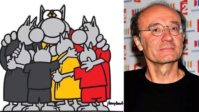 Le dessinateur bruxellois Philippe Geluck a réagi sur Télérama aux attaques terroristes qui ont endeuillé son pays le 22 mars.