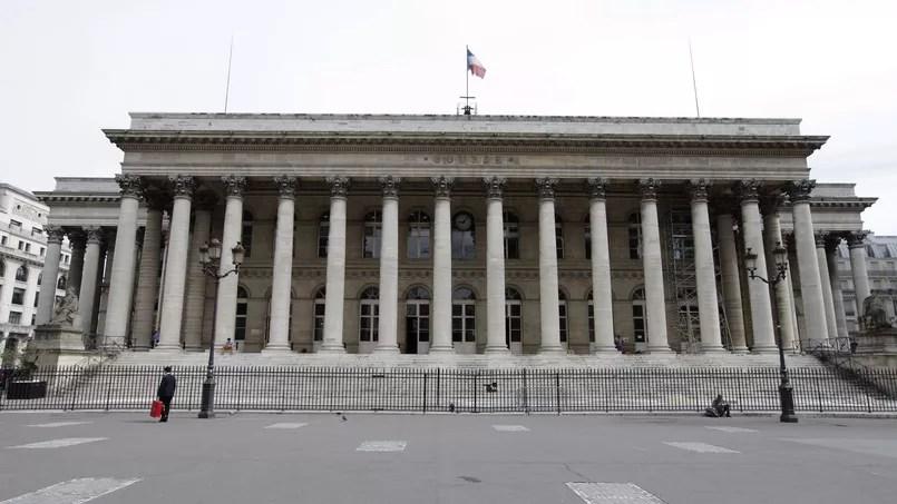 La Bourse de Paris. Crédits: Jean-Christophe Marmara. Le Figaro