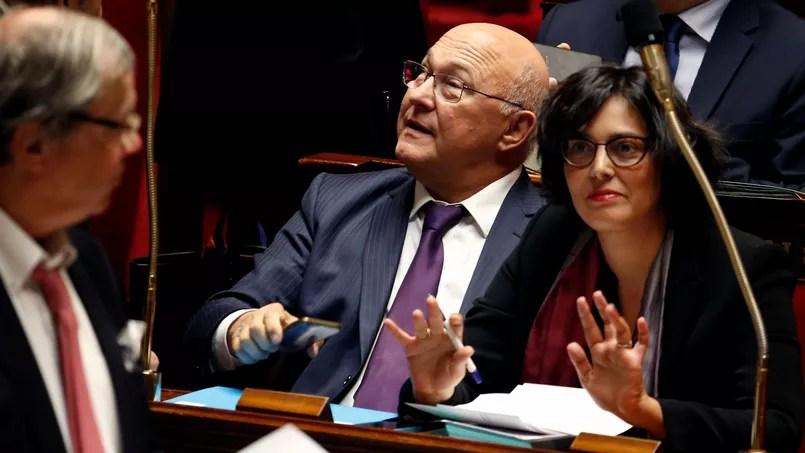 Myriam El Khomri, la ministre du Travail, de l'Emploi, du Dialogue social et aussi de la Formation professionnelle, ce mercredi après-midi à l'Assemblée lors de la séance de questions au gouvernement (REUTERS/Jacky Naegelen). Crédits photo : JACKY NAEGELEN/REUTERS