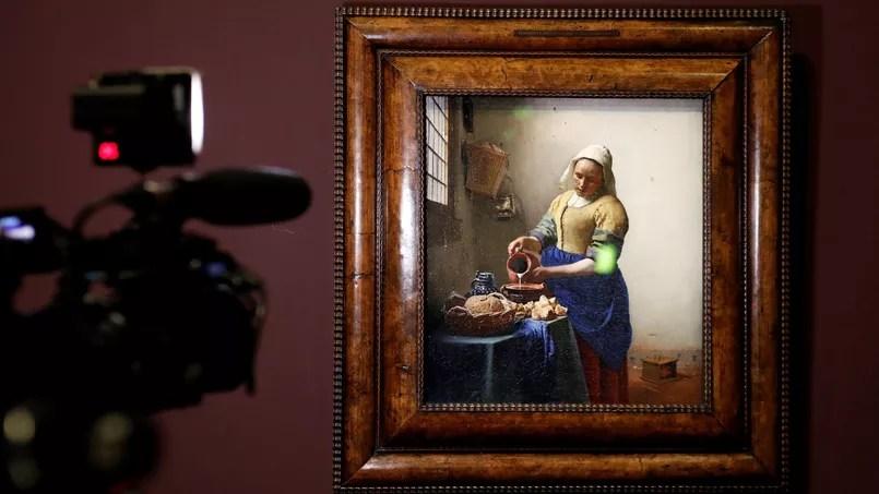 Depuis son ouverture, l'exposition Vermeer au Louvre (ici la célèbre «Laitière») refuse du monde. Le musée parisien semble même totalement débordé.