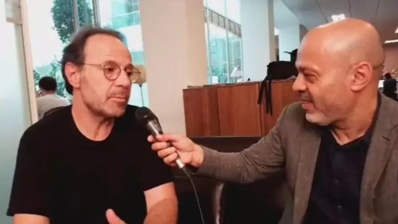 Marc Levy en interview avec Mohammed Aïssaoui, journaliste littéraire au Figaro.