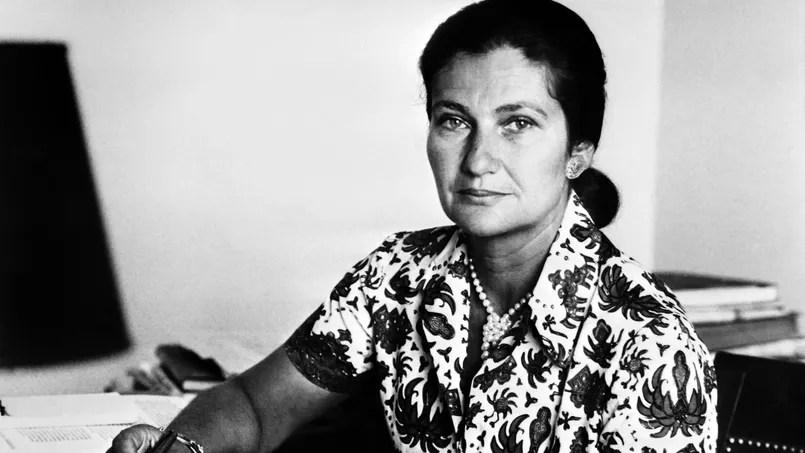 Simone Veil en 1974.