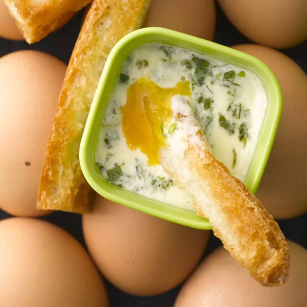 œufs cocotte au micro ondes