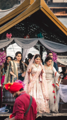 Bride Tribe with stunning outfits Photograph Tradition Ceremony