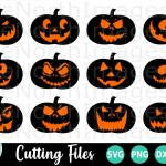Halloween Svg Pumpkin Svg Jack O Lantern Svg 206800 Cut Files Design Bundles