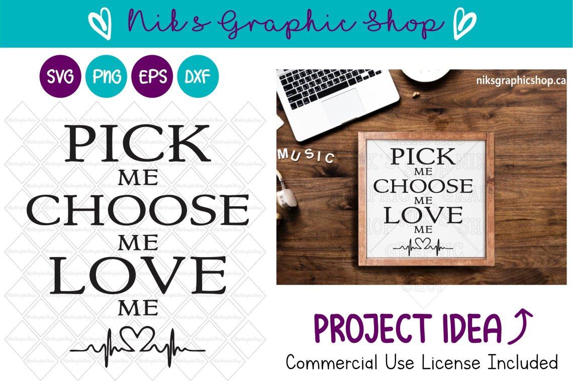 Download Pick me, Choose me, Sign, Love Sign Svg, Sign Svg, Love ...