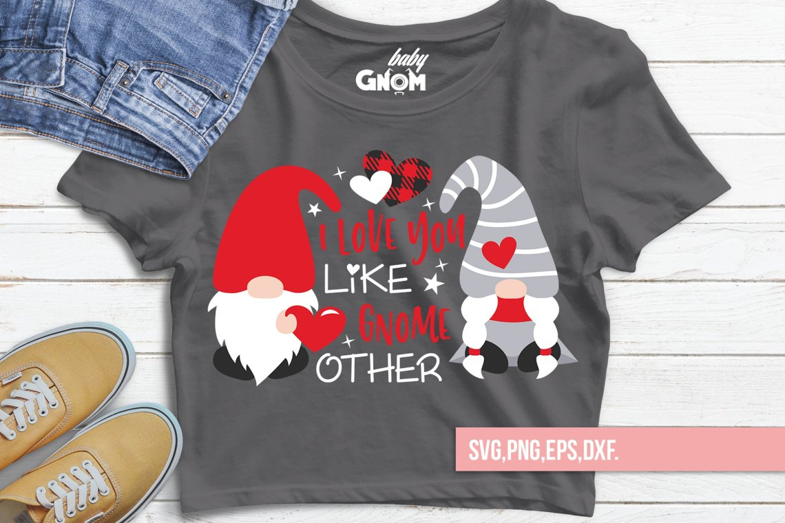 Download I Love You Like Gnome Other svg, Valentine's Day Svg ...