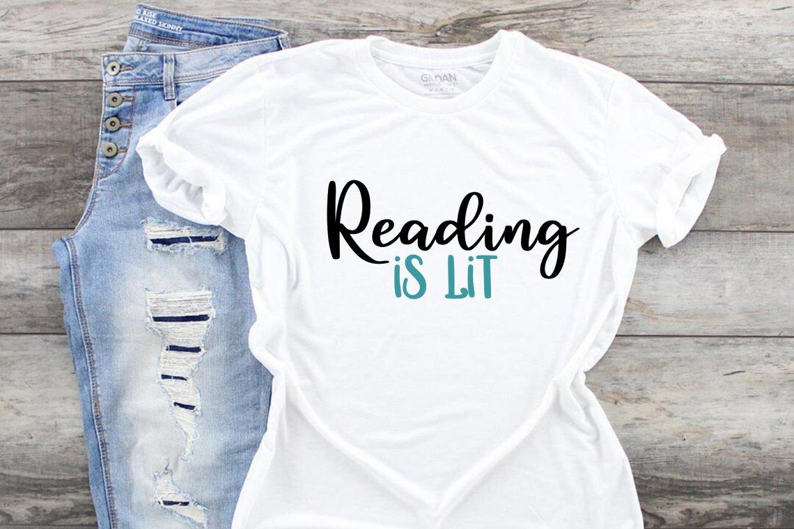Download Reading is Lit svg cut file Book Lover diy sublimation png ...