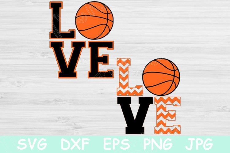 Download Love Basketball Svg, Basketball Svg, Basketball Monogram ...