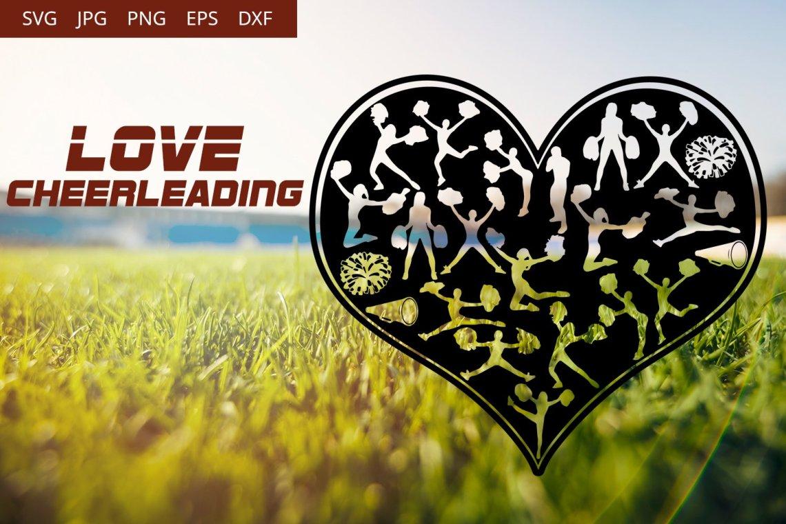 Download Love Cheerleading SVG Vector (359807) | Illustrations ...