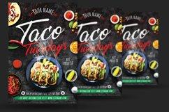 Taco Tuesday Flyer 517511 Flyers Design Bundles