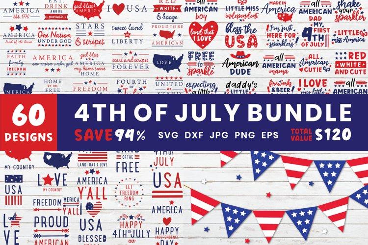 4th of July Bundle | Independence Day SVG Bundle