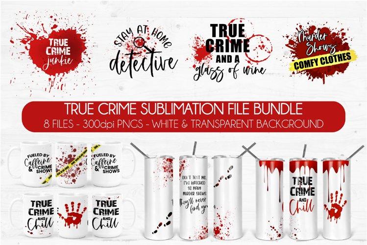 true crime sublimation