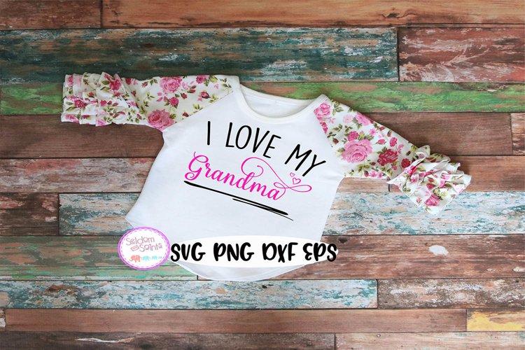 Download I Love My Grandma SVG PNG EPS DXF (373961) | SVGs | Design ...