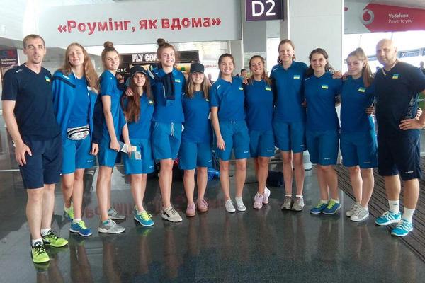 Жіноча збірна України U-18 вирушила на чемпіонат Європи