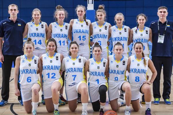 Жіноча збірна України U-18 здобула першу перемогу на Чемпіонаті Європи