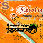 Resolutions 2k13 – Techno Cultural Fest in Kakinada, Andhra Pradesh from March 11-13, 2013